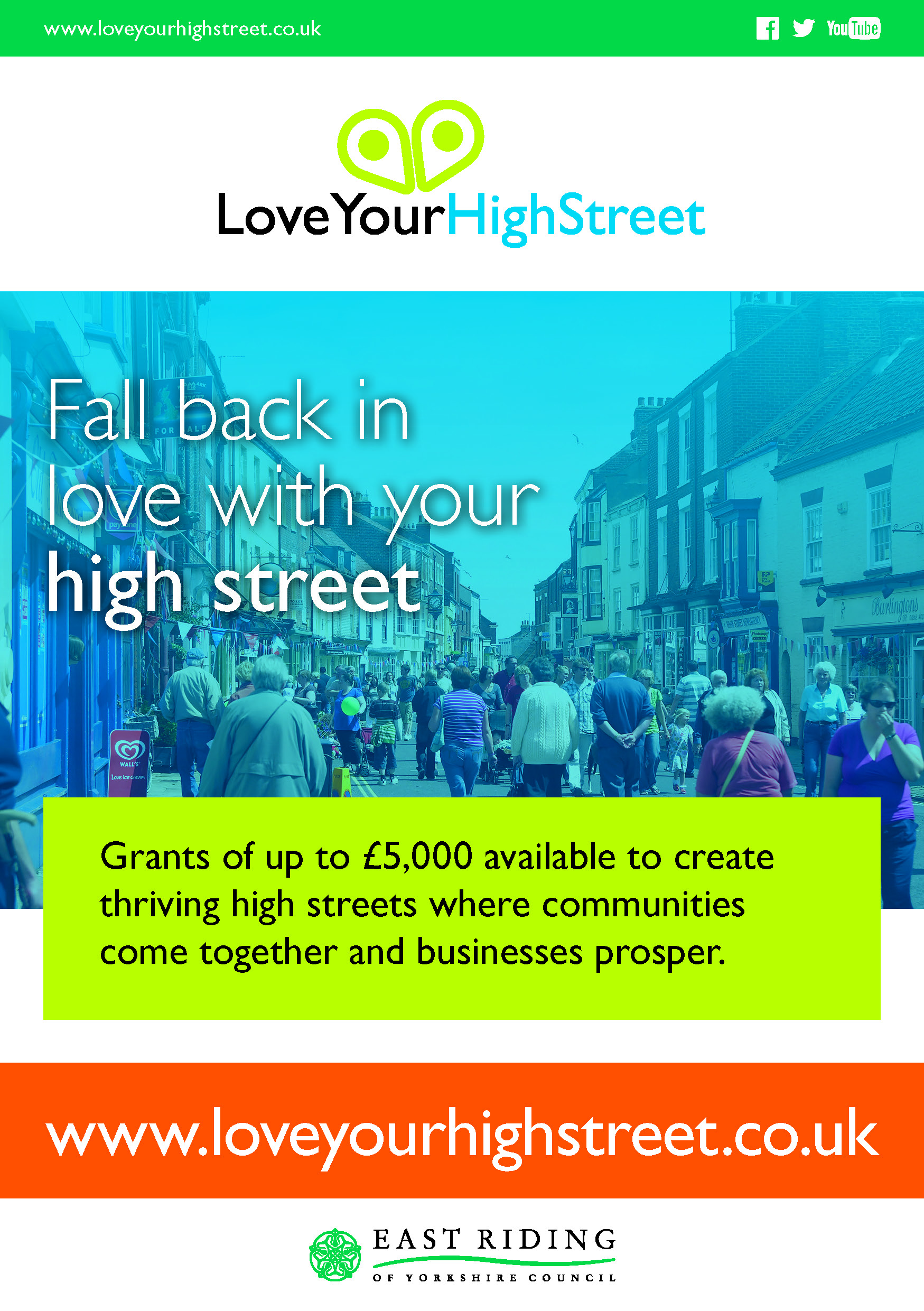 Image result for love your high street, eryc